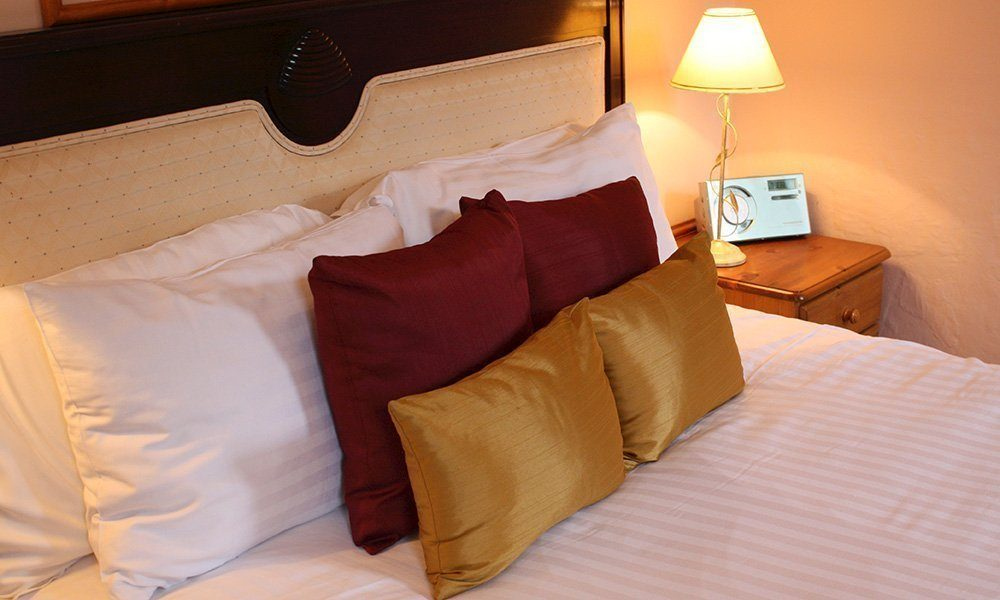 Stower Grange Hotel bedroom.