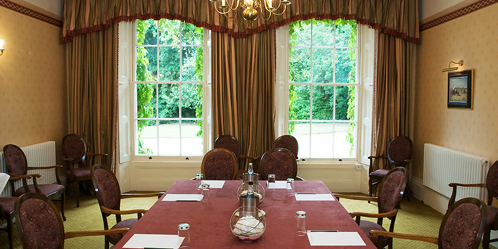 Meeting room at Stower Grange near Norwich.